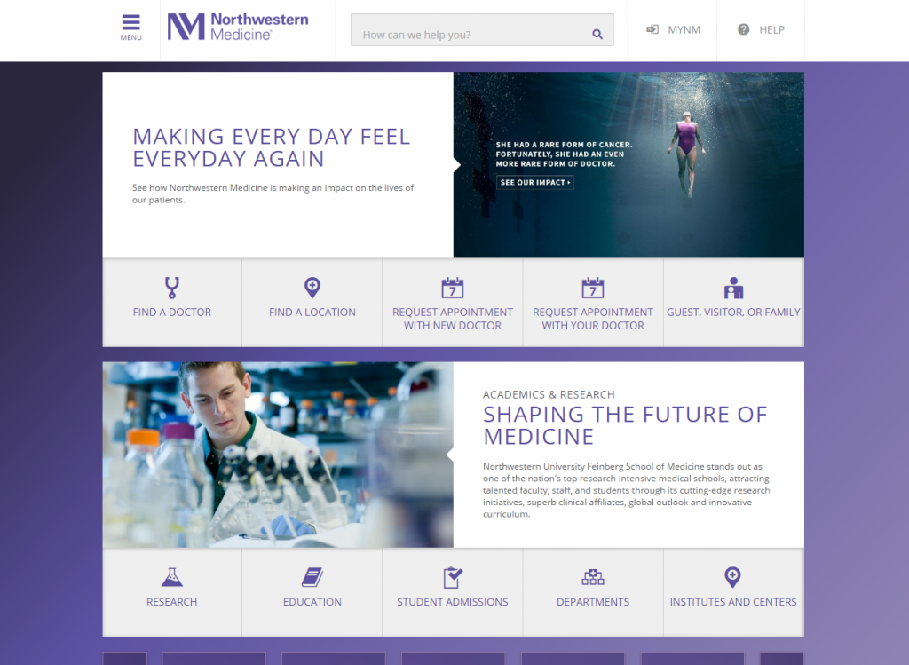 Northwestern Medicine: An Unforgettable Online Marketing